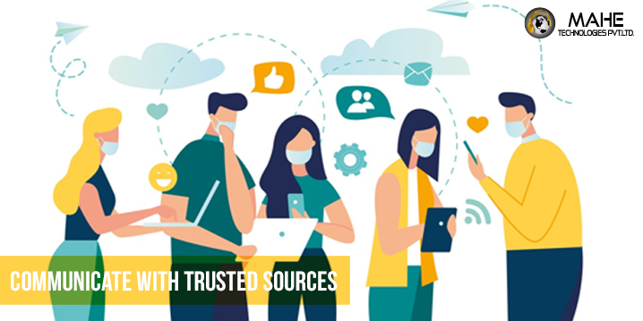 Communicate With Trusted Sources