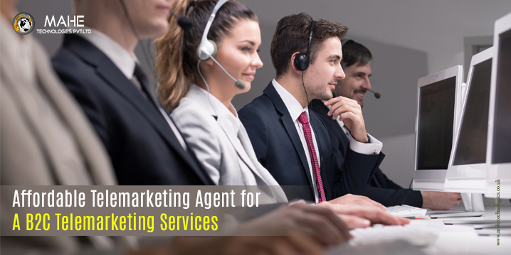Affordable Telemarketing Agent for A B2C Telemarketing Services