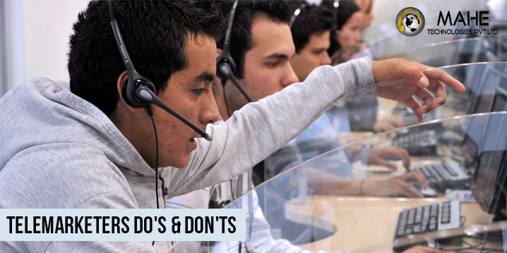 Telemarketers Do's & Don'ts